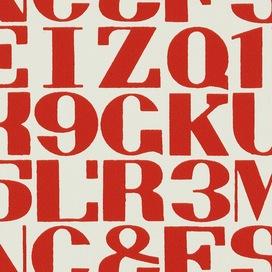 Alphabet by Alexander Girard, 1952