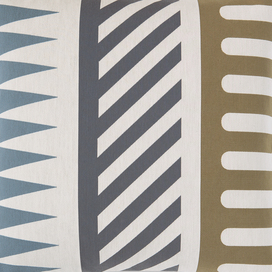 Palio Pillow (Diagonal Stripe) by Alexander Girard