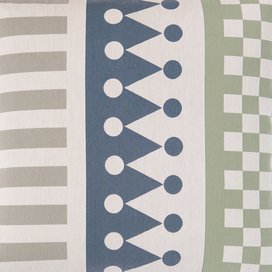 Palio Pillow (Crown Stripe) by Alexander Girard