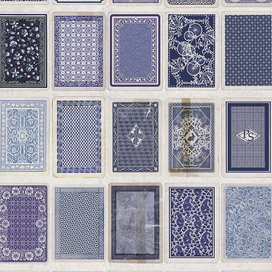 Playing Cards Back by Paul Smith
