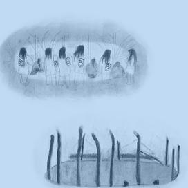 Wiwa Stories by Beatriz González