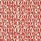 002 Crimson On White