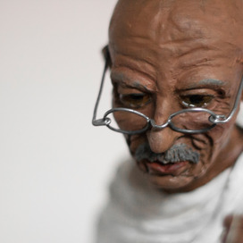 The Wooden Gandhi